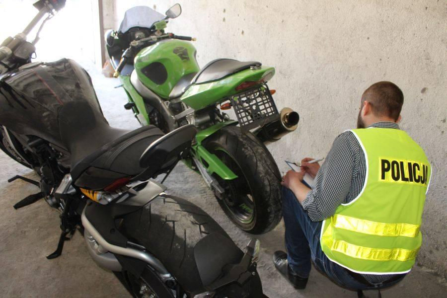 Łódzka szajka złodziei rozbita - policjanci odzyskali 6 motocykli ...