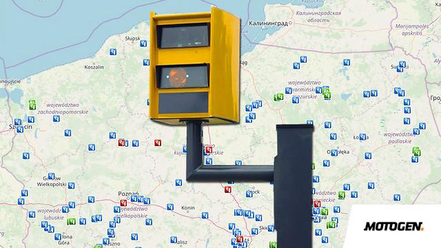 Aktualna Mapa Fotoradarow W Polsce 2019 Motogen Pl Testy