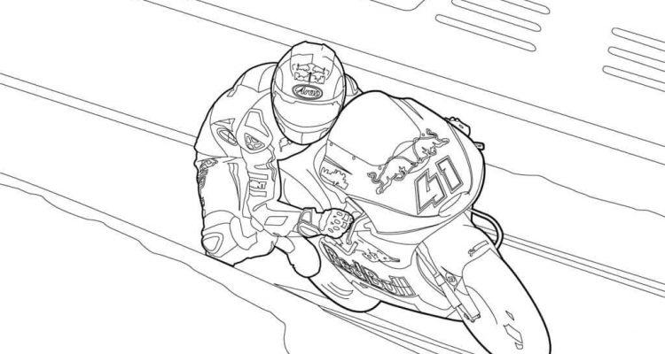 Kolorowanki motocyklowe Aleix Espargaro MotoGP