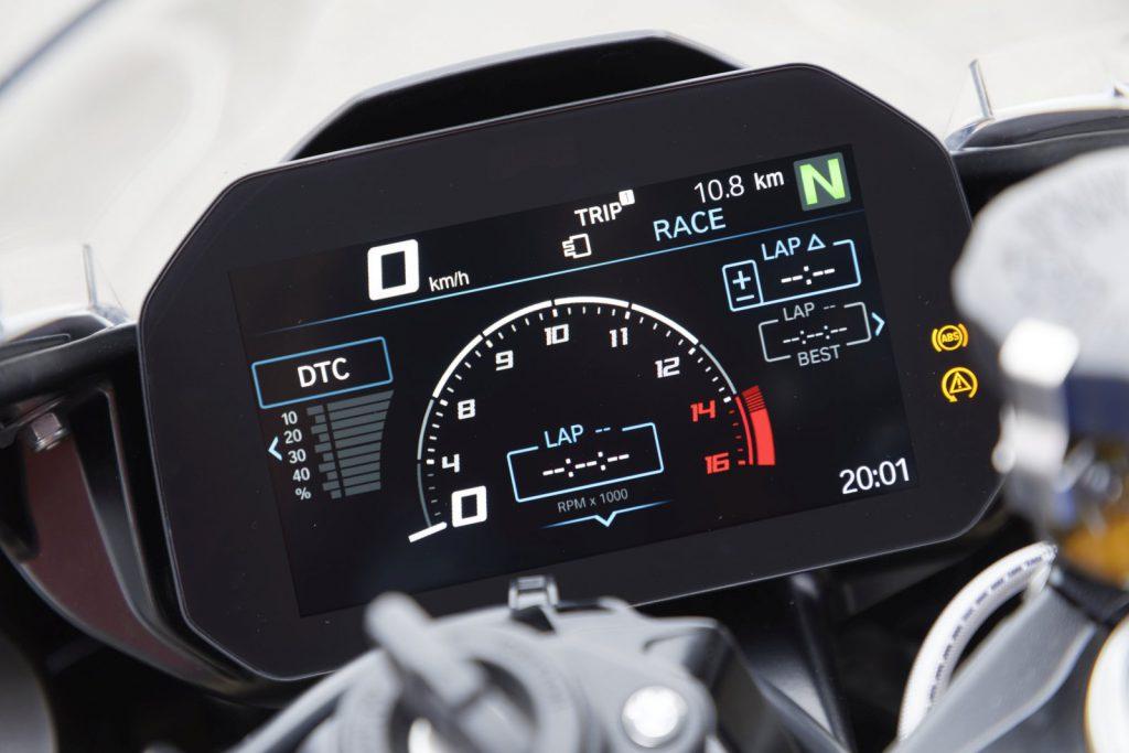 wyścigowy ekran s 1000 rr system