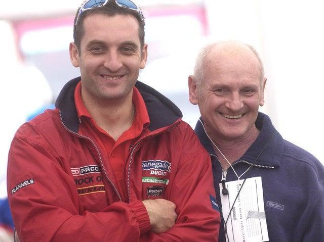 Tony Rutter i jego syn Michael Rutter