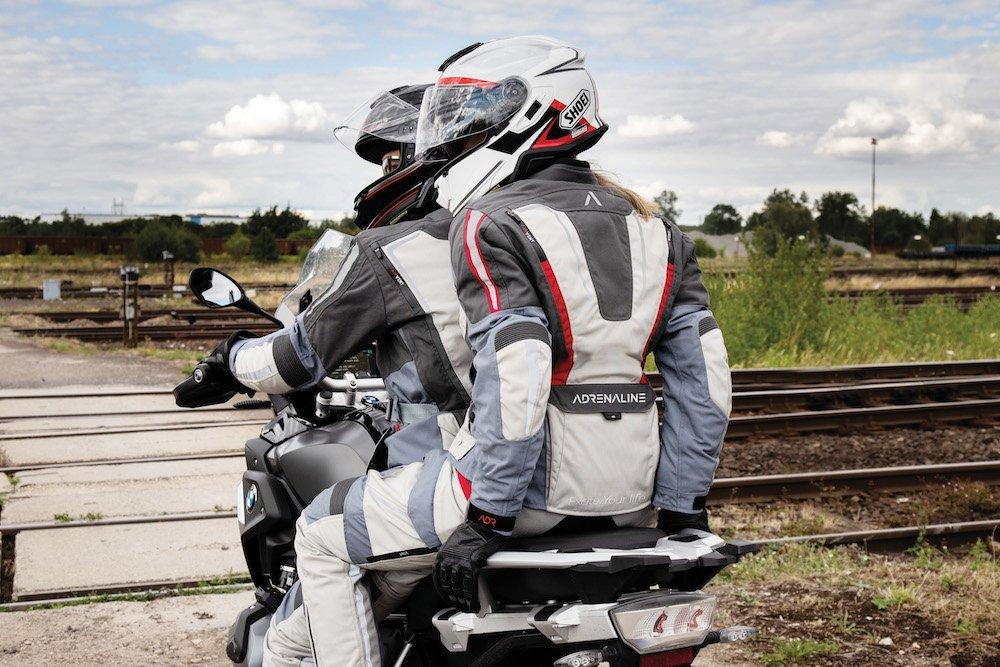Odzież motocyklowa Adrenaline z certyfikacją PPE