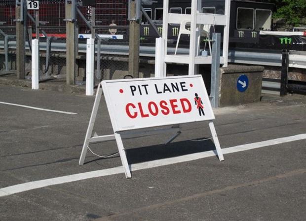 IoMTT Pitlane Closed