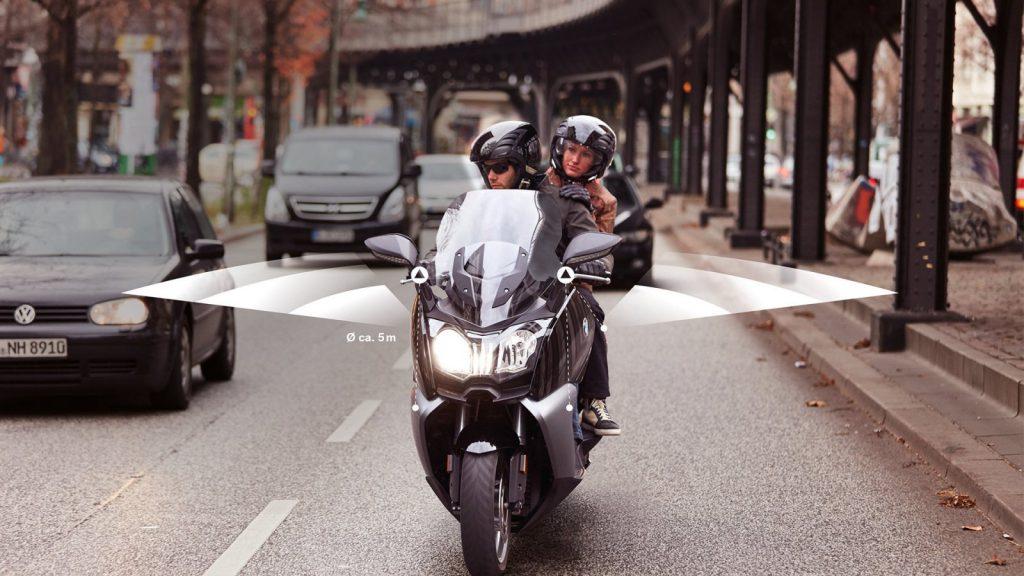 SVA asysten badanie martwego pola w motocyklu