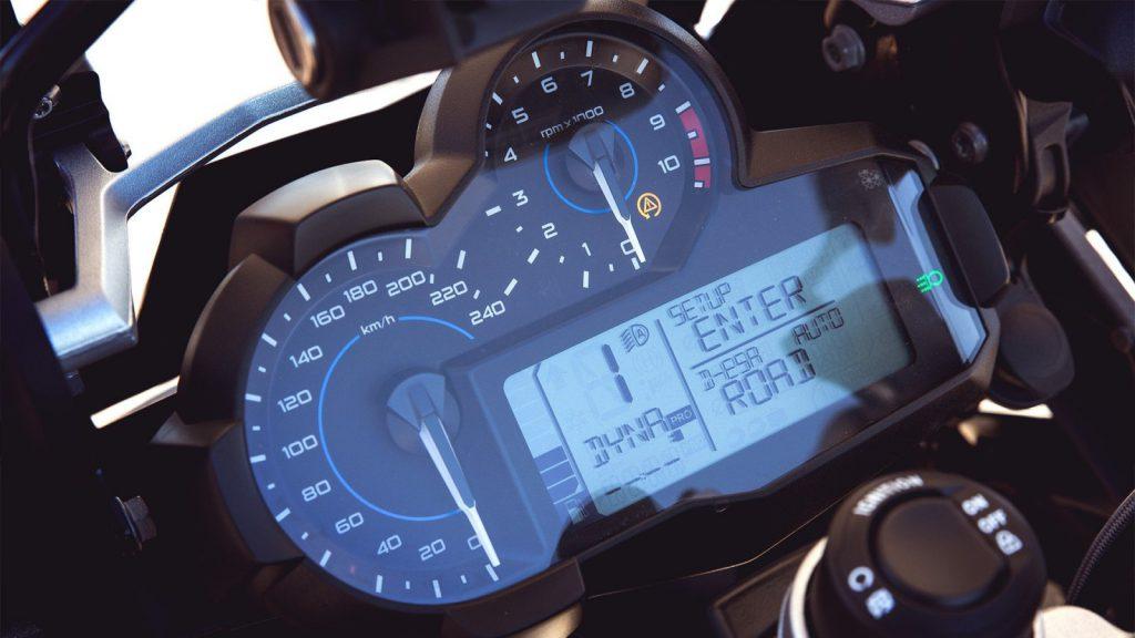 Tryby jazdy asystent BMW Motorrad