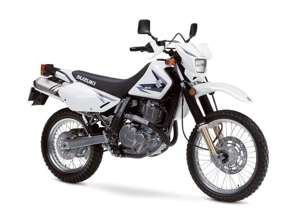 Suzuki DR650 nowsze roczniki