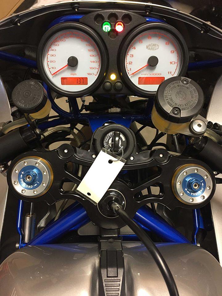 Ducati 900ss rest-mod, wskaźniki