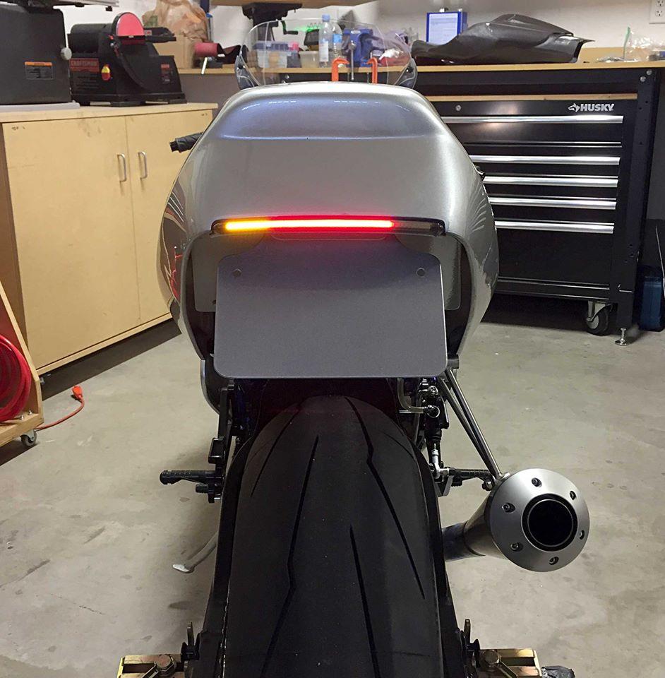 Ducati 900ss rest-mod, tylna lampa