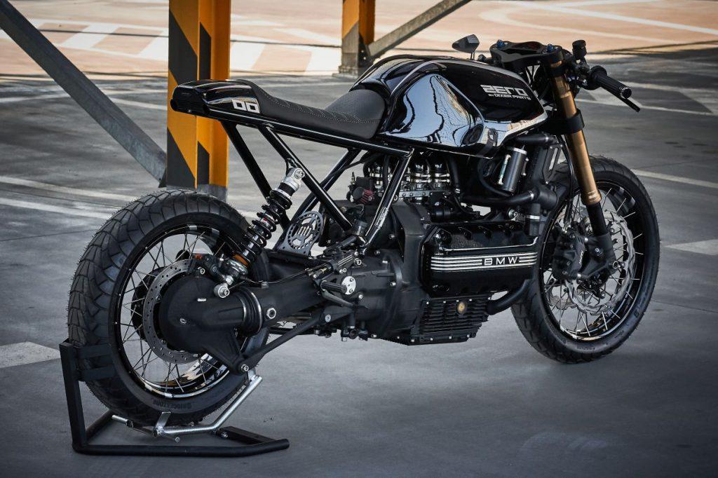 """BMW K100 RS """"ZERO"""" tył"""