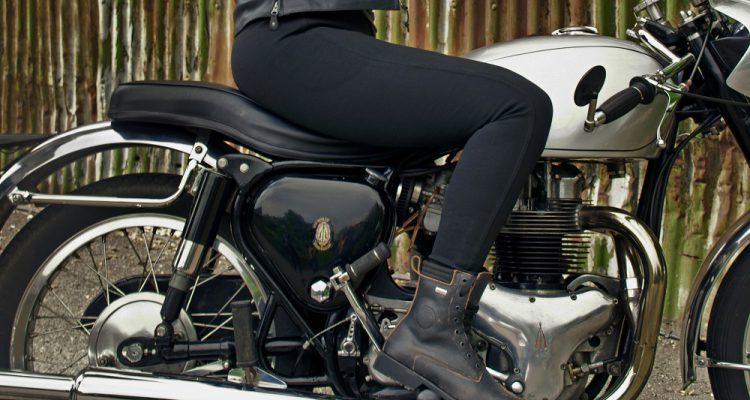 Damskie legginsy na motocykl