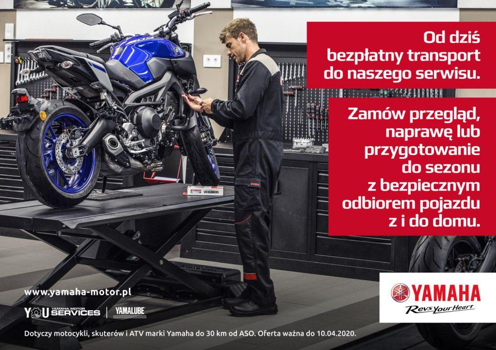 Yamaha - darmowy transport i zakupy przez internet