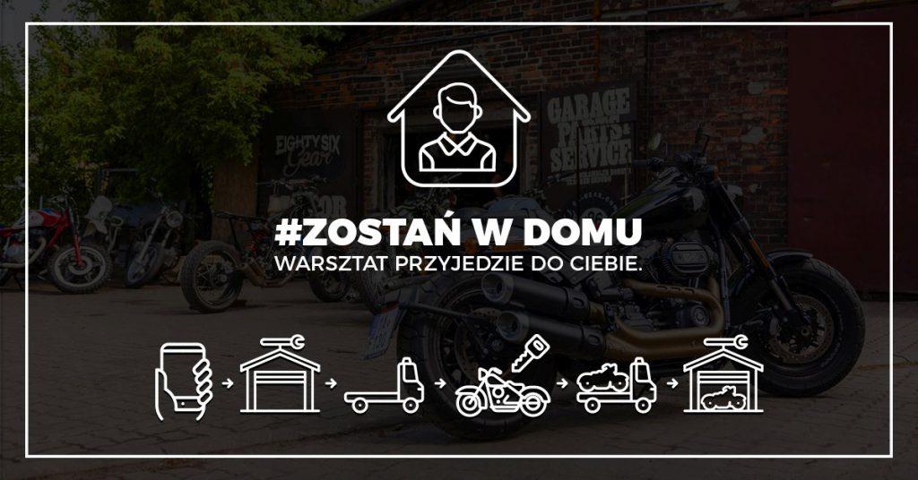 Serwisy motocyklowe door-to-door: transport i naprawa motocykla