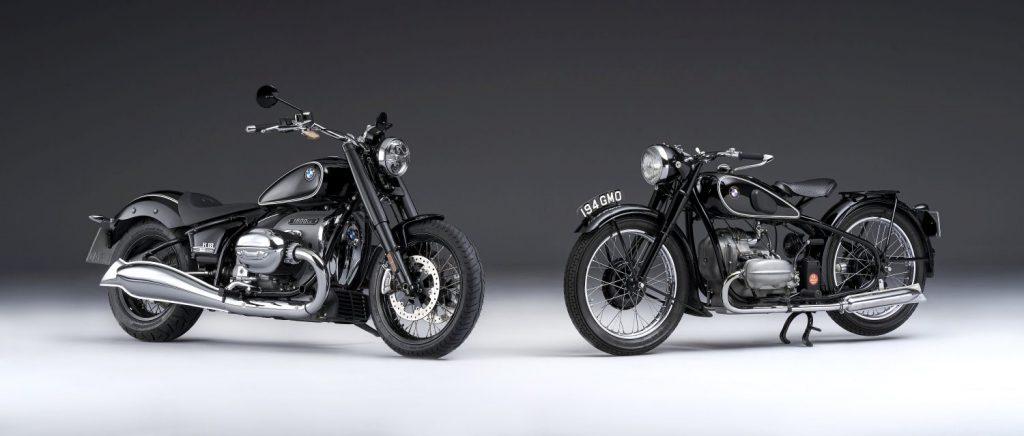 Fabryczny custom jak klasyczny motocykl
