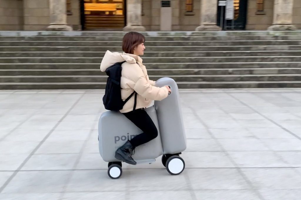 pompowany skuter elektryczny