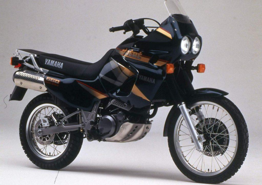 Yamaha XTZ660 Tenere z początku lat 90...