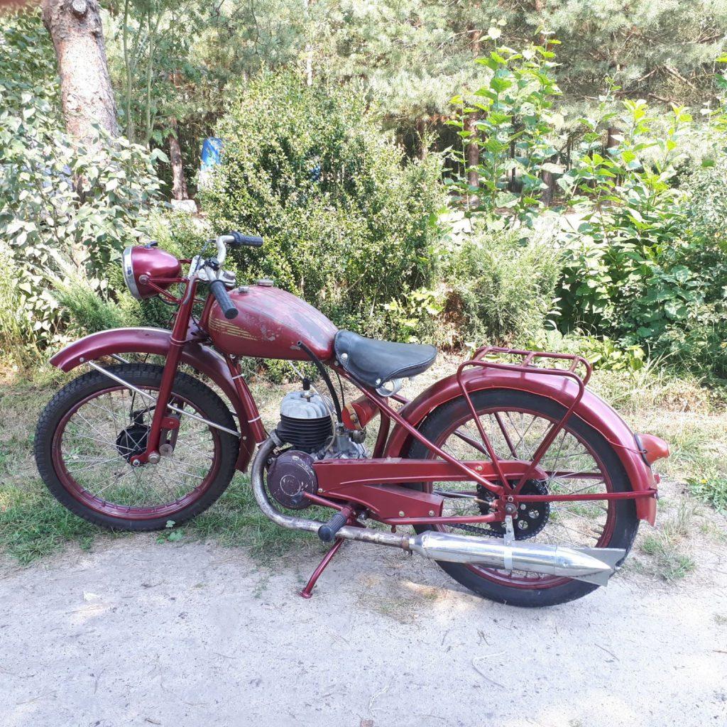 Husqvarna Rödmyra 120 ccm z 1954 roku