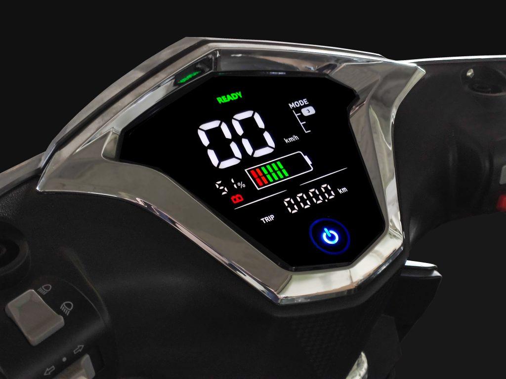Wersja Li-Ion ma także nowe zegary.